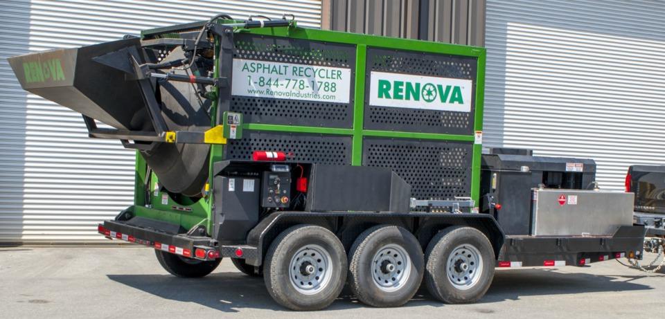 Asphalt-Recycler